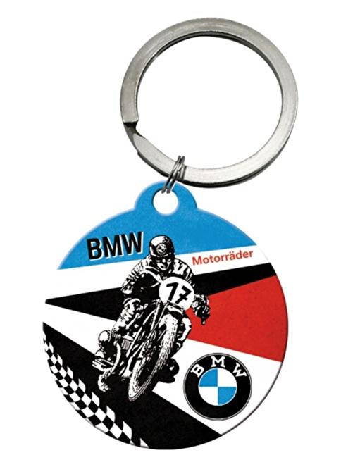 Nostalgic Art BMW Motorrader Anahtarlık Renkli